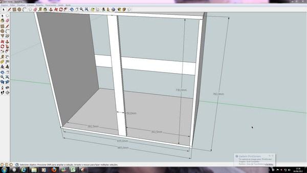 Dúvidas  projeto armários de cozinha  GDM Fóruns -> Gabinete De Banheiro Sketchup