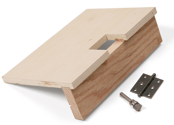 how to cut a square hole inttheiddle of wood
